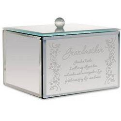 Personalized Mirror Trinket Box for Grandma
