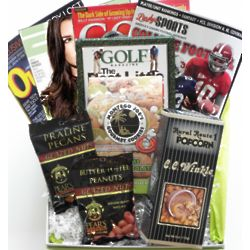 Sports Fan Magazine and Snacks Cheeriodical Gift Box