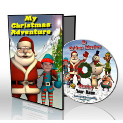 My Christmas Adventure Personalized Kid's DVD