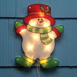 Shimmer Snowman Light Decoration