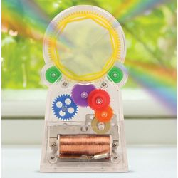 Standing Solar Powered Rainbow Maker