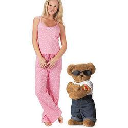 Mama's Boy and XS Pink Polka Dot Cami Pajamas