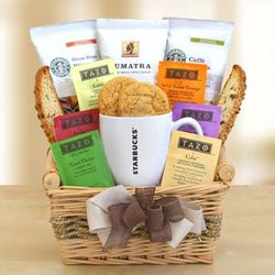 Great Day Starbucks Gift Basket