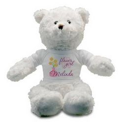 Flower Girl Personalized Teddy Bear