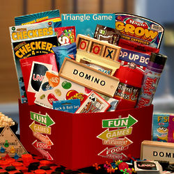 More Fun and Games Gift Basket