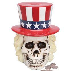 Uncle Sam Skull Bank