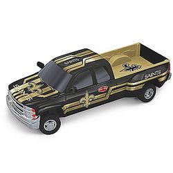 New Orleans Saints Super Bowl XX Chevy Silverado Sculpture