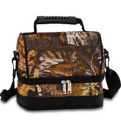 Camouflage Lunch Cooler Tote