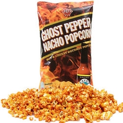 Ghost Pepper Nacho Popcorn