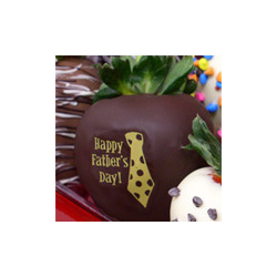Father's Day Large Chocolate Strawberry Gift Box
