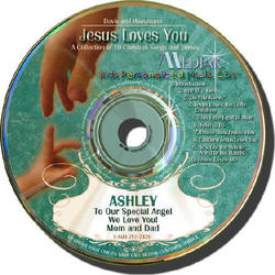Jesus Loves You Personalized Music CD