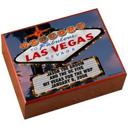 Personalized Vegas Night Humidor