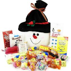 Snowman Sack of Nostalgic Candy