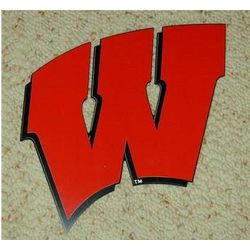 University of Wisconsin Motion W Lawn Ornament