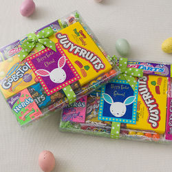 Personalized Trendy Bunny Easter Candy