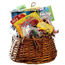 Fishing Creel Nostalgic Candy Basket