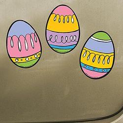 Easter Egg Car Magnets