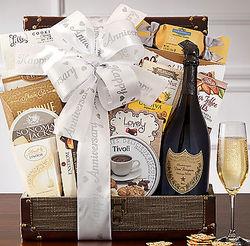 Dom Perignon Anniversary Gift Basket
