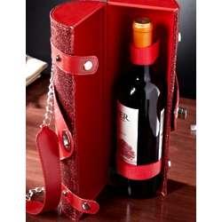 Razzle Dazzle Red Wine Tote