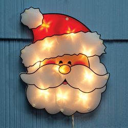 Shimmer Santa Light Decoration