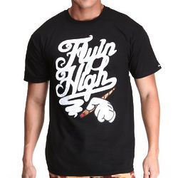 Men's Flyin High Black T-Shirt