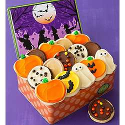 Trick or Treat Frosted Cookies Tin