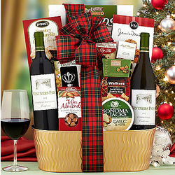 Vintner's Path Winery Holiday Selection Gfit Basket