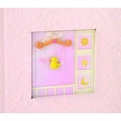 Pink 100 Photo Baby Album
