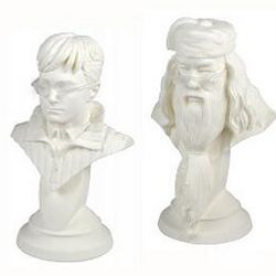 Harry Potter and Dumbledore Plaster Kit Set