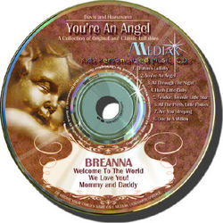 You're an Angel Personalized Music CD