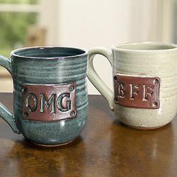 BFF Pottery Mug