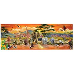 100-piece Safari Floor Puzzle