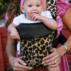 Lollipop Leopard Baby Carrier Slip Cover