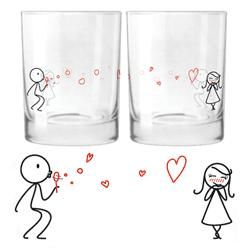 From My Heart to Yours Drinking Glass Set