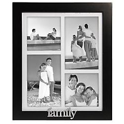 4 Opening Family Collage Photo Frame