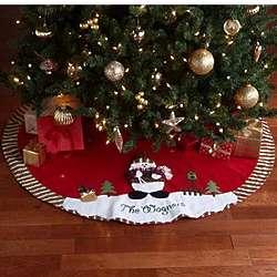 Personalized Winter Wonderland Tree Skirt