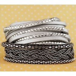 Eclectic Style Mix and Match Bangle Bracelets