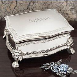 Personalized Figaro Jewelry Box