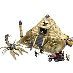 LEGO Pharaohs Quest Scorpion Pyramid Playset