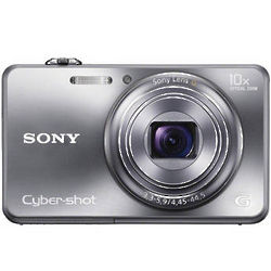 Silver Sony Cyber-Shot DSC-WX150 Digital Camera