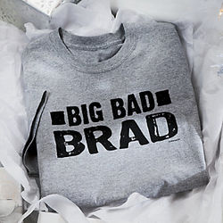 Personalized Big Bad Guy Shirt