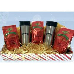 Holiday Coffee Trio Travel Gift Set