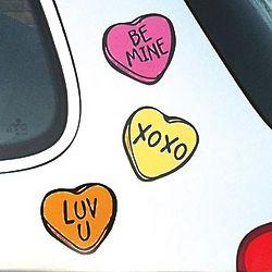 Talkin' 'Bout Love Car Magnets
