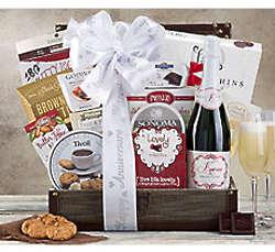 Kiarna Sparkling Anniversary Wine Gift Basket