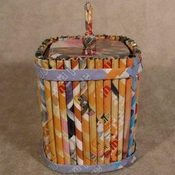 Recycled Paper Trinket Box