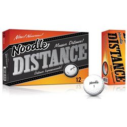 Personalized Noodle Distance Golf Balls