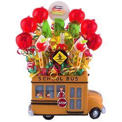 Teacher's Hop on the Bus Lollipop Bouquet