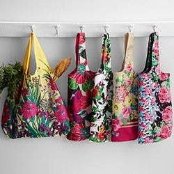 Waterproof Market Bags with Pouch