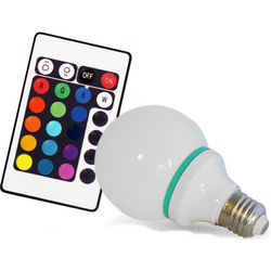 Remote Control Color-Changing Light Bulb