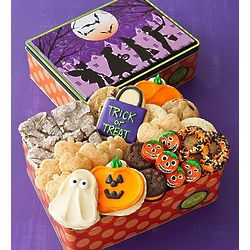 Trick or Treat Cookie Assortment Tin